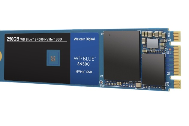 Western Digital lance une version NVMe plus performante de son SSD WD Blue