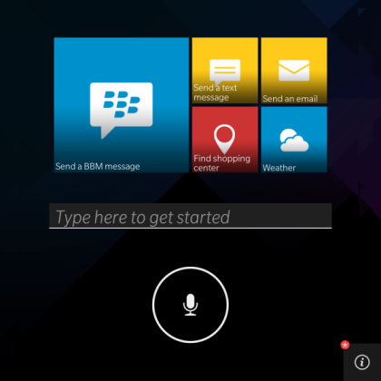 BlackBerry 10.3 : un assistant vocal inspiré de Siri et Google Now