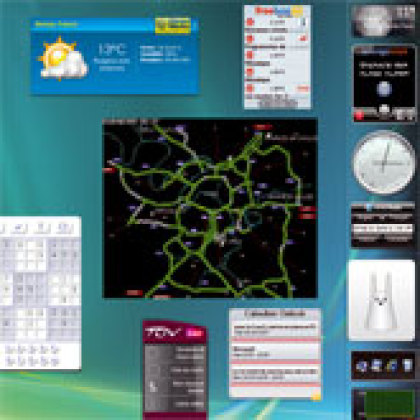 Dix gadgets pour le Volet Windows de Vista