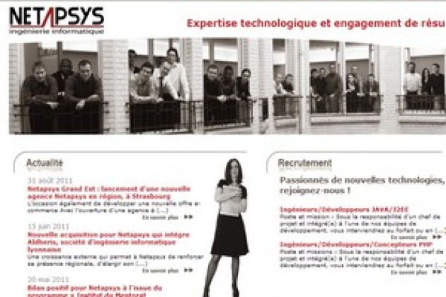 Netapsys ouvre une agence à Strasbourg