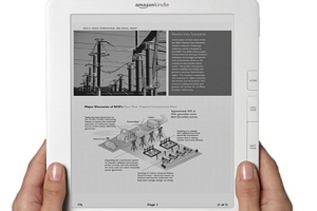 Livre électronique : le Kindle DX d'Amazon arrive en France