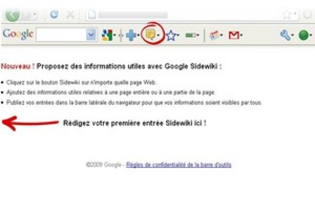 Sidewiki, l'outil à commenter le Web de Google