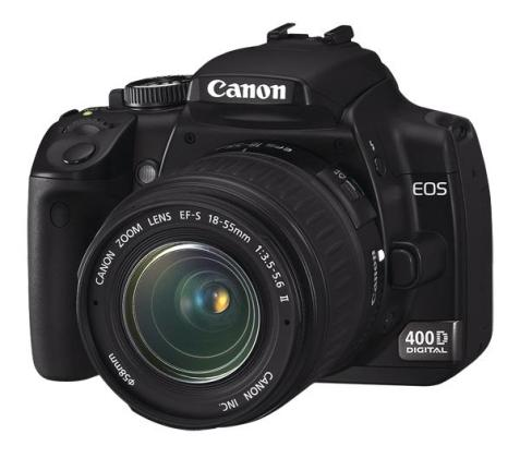 Canon EOS 400D + zoom EF-S 18-55 mm