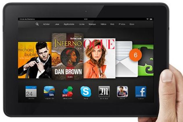 Amazon commence à livrer en France ses tablettes Kindle Fire HDX