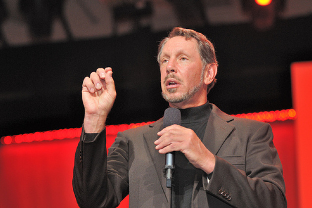 Larry Ellison, PDG d'Oracle