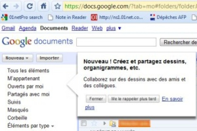 Google Docs évolue pour devenir plus collaboratif
