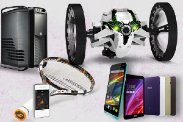 Wiko Slide, Parrot Jumping Sumo, Babolat Play Pure Drive... le top des tests
