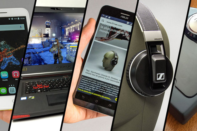 Asus Zenfone Max, Acer Predator 17, Sennheiser Urbanite XL Wireless... le top 5 des tests