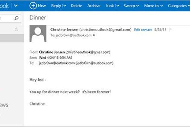 Messagerie : 400 millions de comptes Outlook.com succèdent à Hotmail