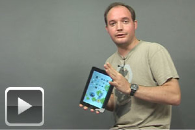 Coulisses du 01Lab : la tablette 3D Optimus Pad de LG