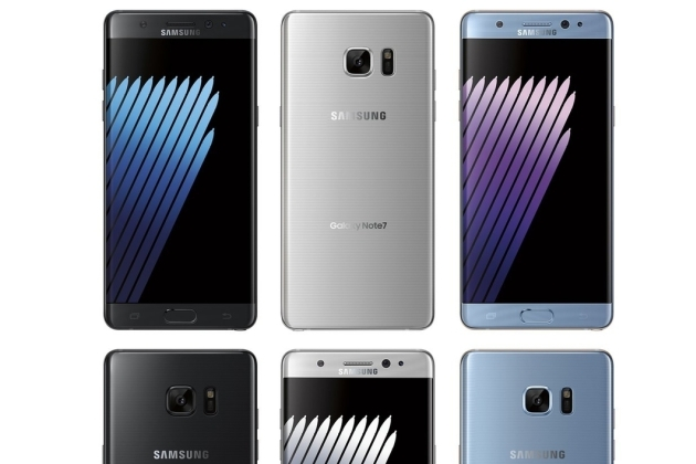 Le Samsung Galaxy Note 7 sur le point de faire son grand retour