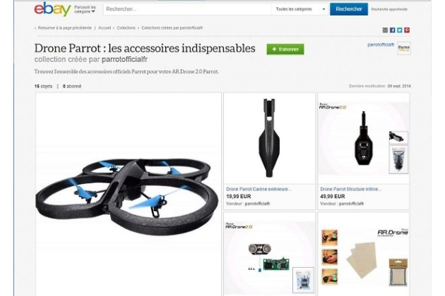 eBay teste le shopping social avec ses Collections