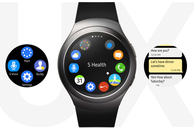 samsung gear s2 la montre connect e sous tizen bient t. Black Bedroom Furniture Sets. Home Design Ideas