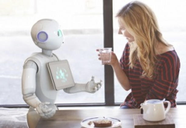 Pepper, un humanoïde capable de lire les émotions
