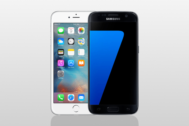 Les Samsung Galaxy S7 et iPhone 6s