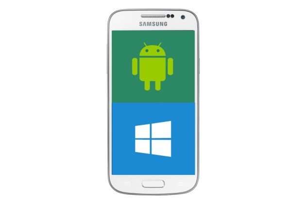 Samsung imagine un smartphone faisant tourner Android et Windows