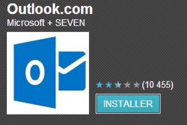 Microsoft met à jour l'application Outlook.com sous Android