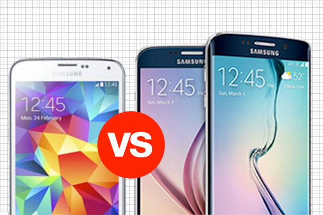 Samsung Glaxy s6 vs Galaxy s5