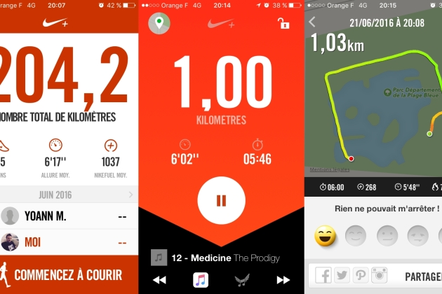 5 applications gratuites pour courir sur Android, iPhone et Windows Phone