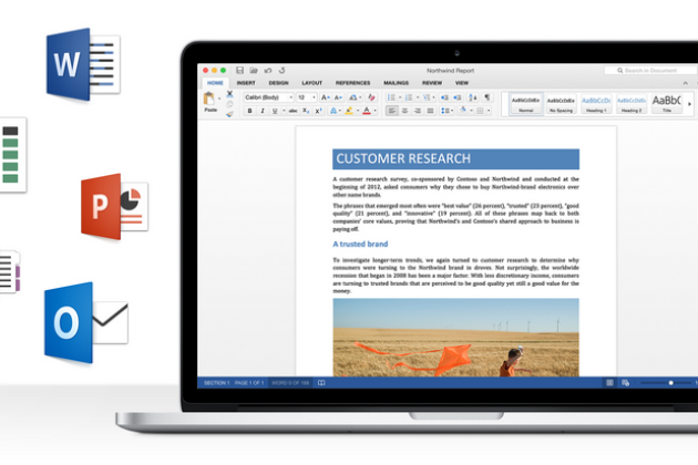 La preview d'Office 2016 pour Mac est disponible