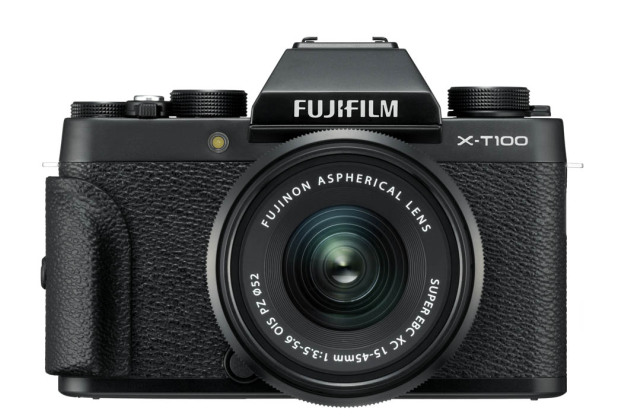 fujifilm x t100 un hybride r tro pas cher qui profite d un zoom motoris. Black Bedroom Furniture Sets. Home Design Ideas