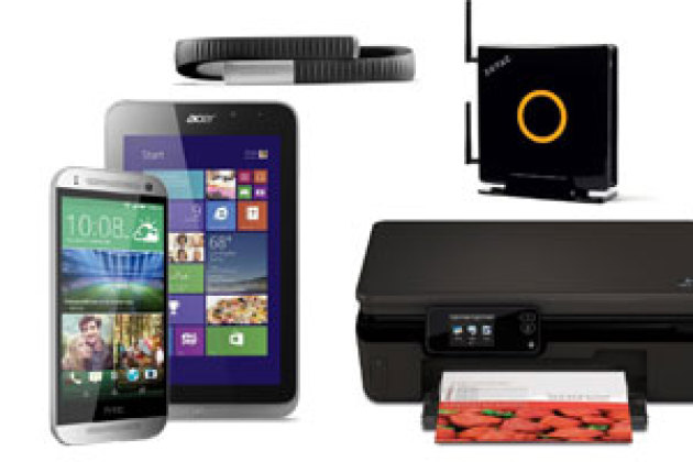HTC One Mini 2, Zotac Zbox EN760, HP Photosmart 5525 : le top des tests du labo