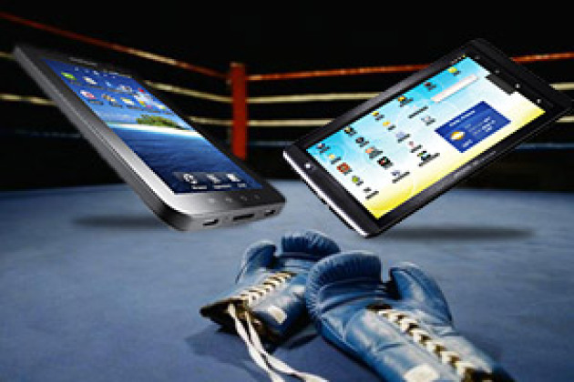 Match de tablettes : Samsung Galaxy Tab contre Archos 70