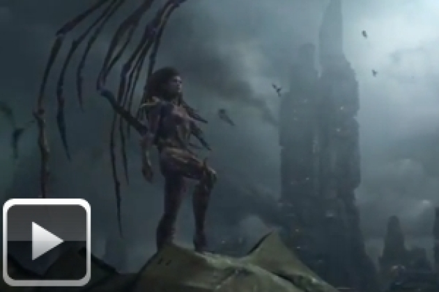 StarCraft II Heart of the Swarm, une vidéo d'introduction à tomber