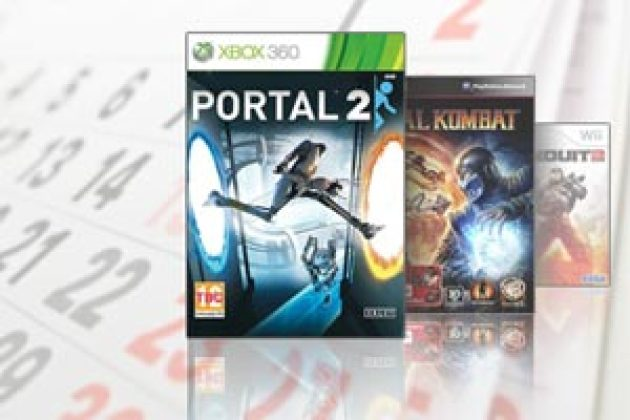 Agenda des sorties : Portal 2, Mortal Kombat, The Conduit 2