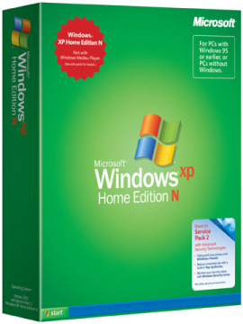Windows XP Edition N