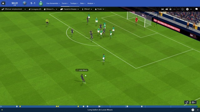 capture écran football manager