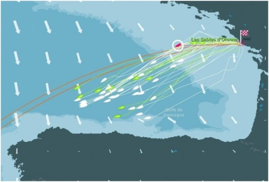 La course virtuelle du Vendée Globe
