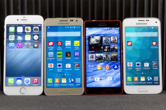 iPhone 6 - Galaxy Alpha - Z3 Compact - Galaxy S5 Mini