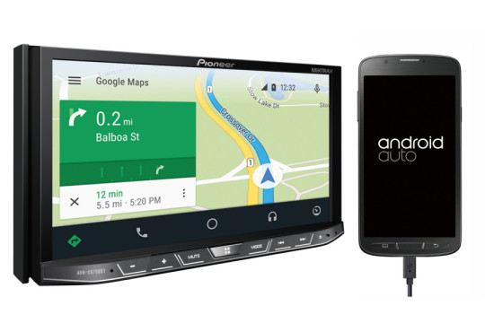 ces 2015 pioneer annonce trois autoradios compatibles android auto. Black Bedroom Furniture Sets. Home Design Ideas