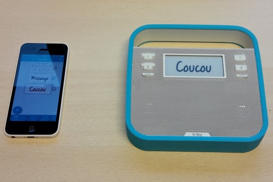 Test : Invoxia Triby
