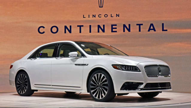 Lincoln Continental Détroit 2016