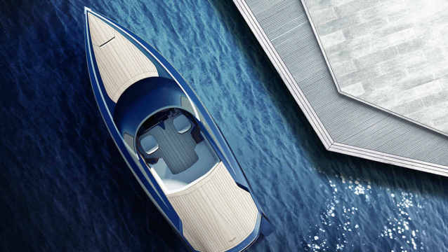Milan Design Week Yacht Aston Martin