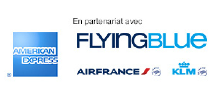 En partenariat avec American Express, Flying Blue, AIR FRANCE et KLM