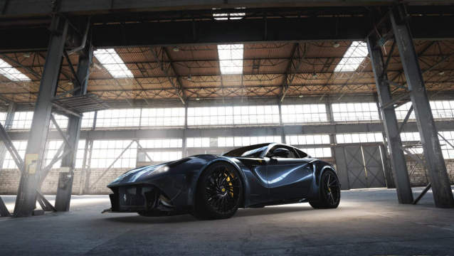 Ferrari F12 Bengala Automotive