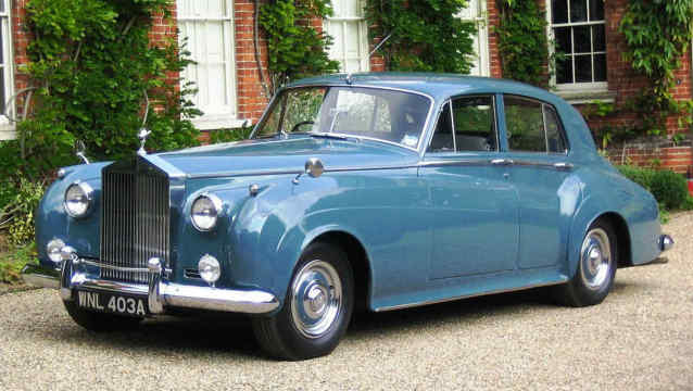 Rolls-Royce Silver Cloud 1956 de Donald Trump