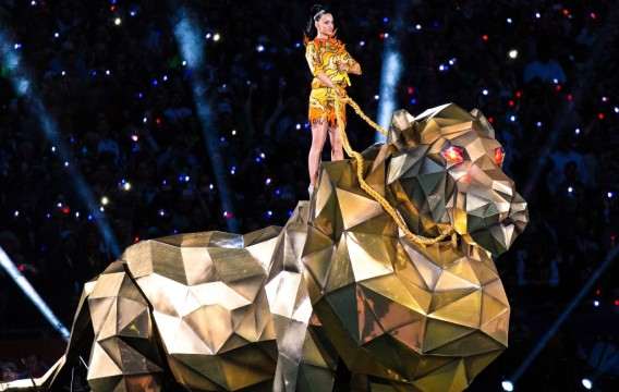 Katy Perry au Super Bowl