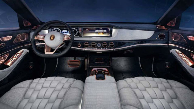 emperor i une mercedes maybach s600 tr s bling bling. Black Bedroom Furniture Sets. Home Design Ideas