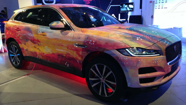 Milan Design Week Jaguar F-Pace