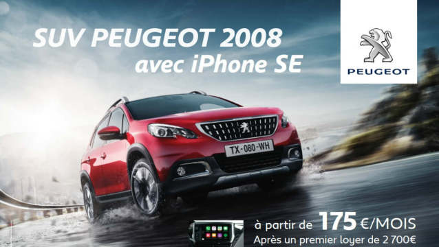 chez peugeot l 39 iphone vaut 5 euros. Black Bedroom Furniture Sets. Home Design Ideas