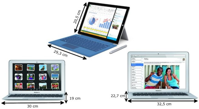 surface pro 3 vs macbook air 11 6 pouces le duel en 6 rounds. Black Bedroom Furniture Sets. Home Design Ideas