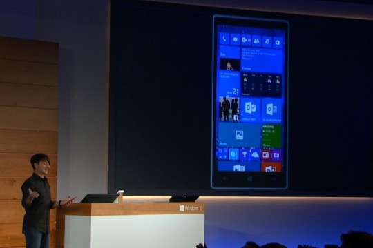 Windows 10 pour smartphones