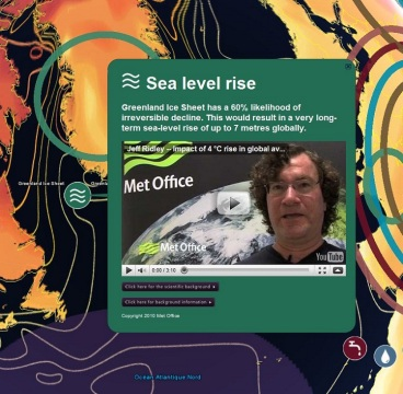 Des informations scientifiques du Met Office