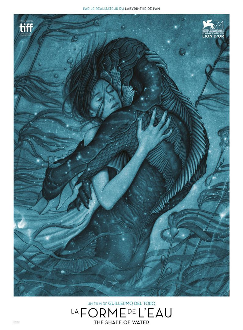 affiche shape of water