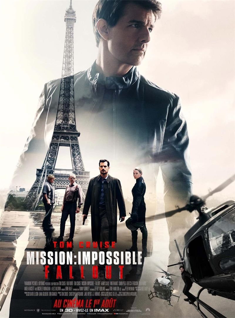 Affiche de Mission Impossible Fallout