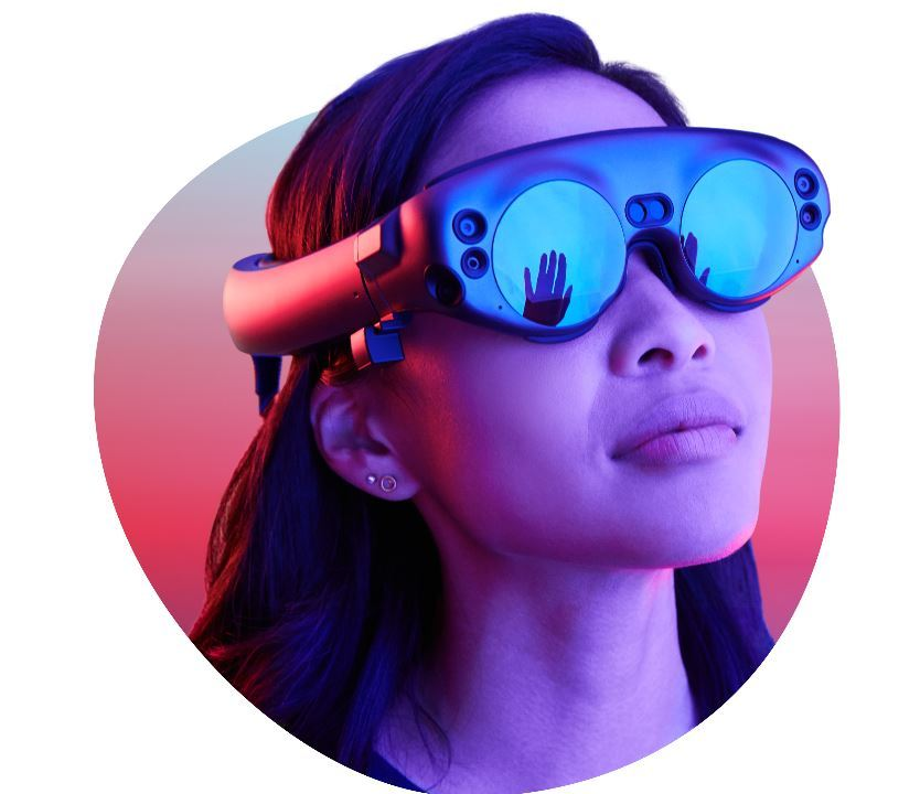 Le casque Lightwear de Magic Leap.